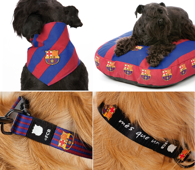 Barcelona FC Accessories for Dogs