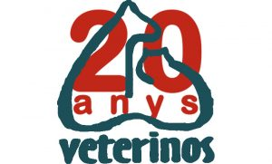 Logotip dels 20 anys de Veterinos