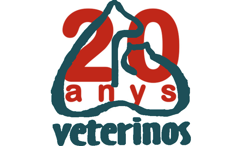 20th Anniversary logo of Veterinos